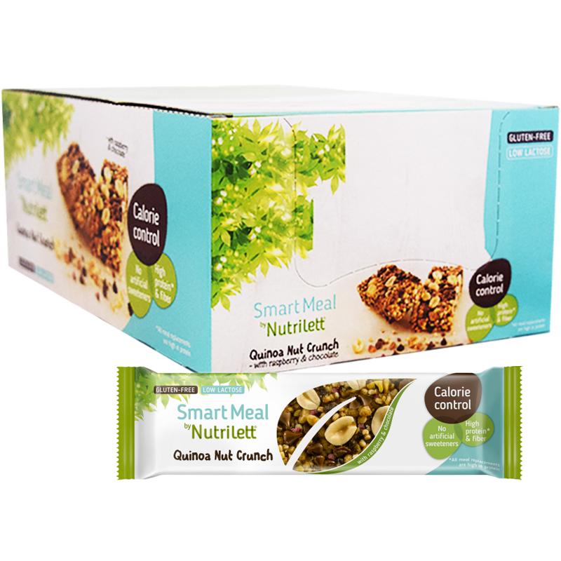 """Hel Låda Mealbar """"Quinoa Nut Crunch"""" 15 x 56g - 50% rabatt"""
