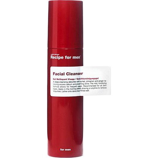 Recipe for Men Facial Cleanser, 100 ml Recipe for men Kasvojen puhdistus