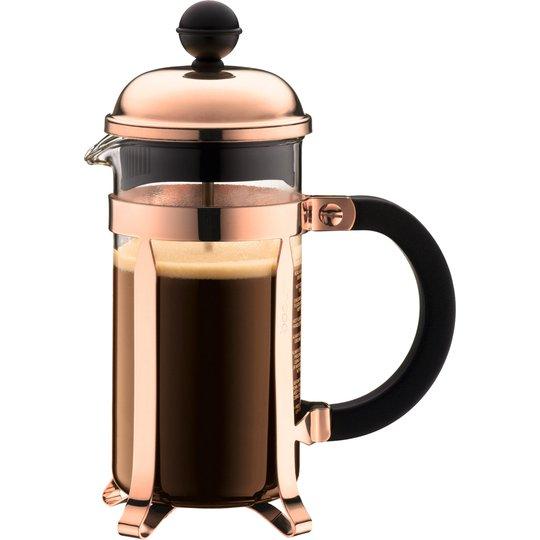 Bodum Chambord kaffepress 3 koppar 0,35 l Kopparfärgad