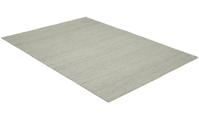 Bello grå - håndvevd ullteppe
