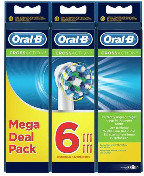 Oral-b Crossaction 2+2+2 Tillbehör Till Tandvård