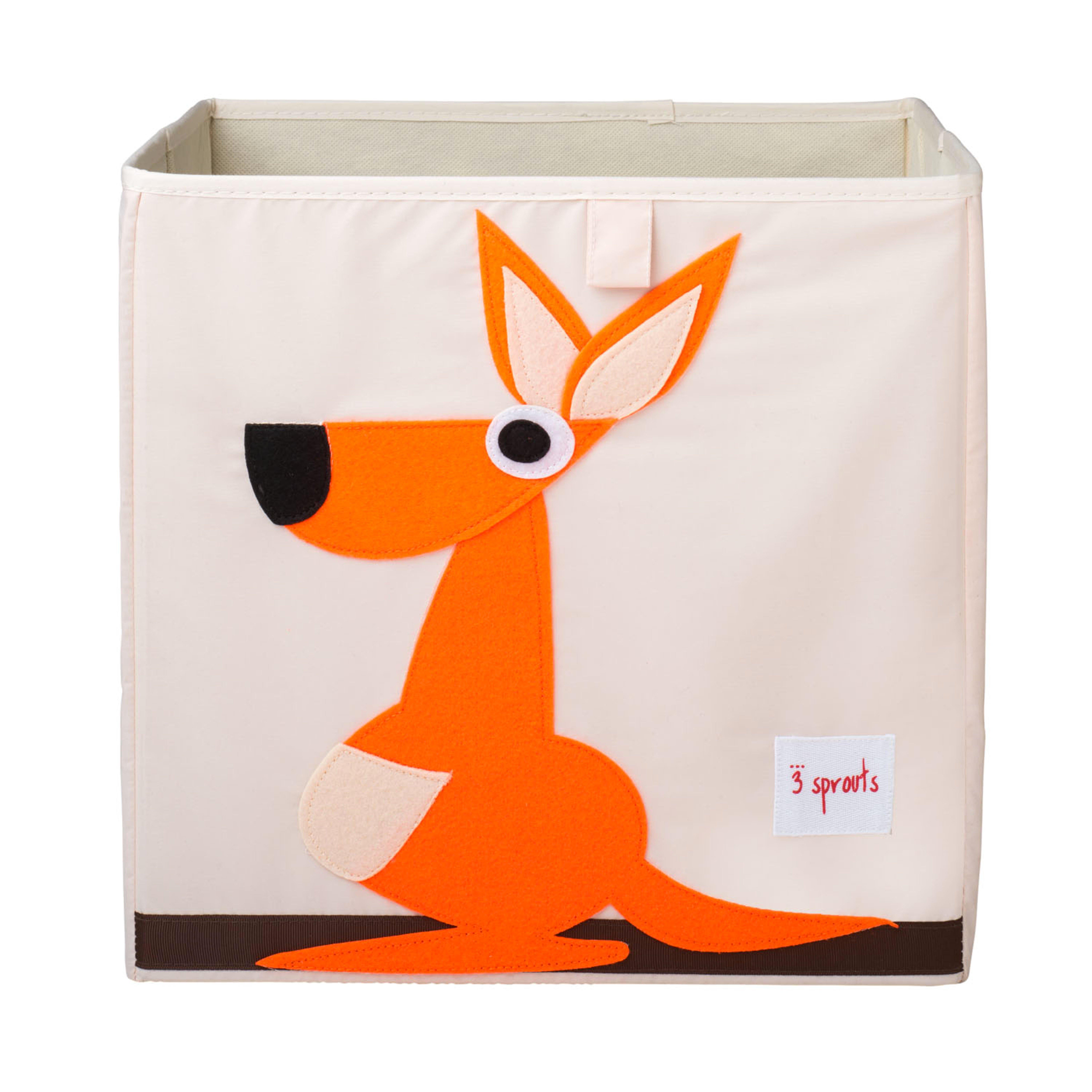 3 Sprouts - Storage Box - Orange Kangaroo