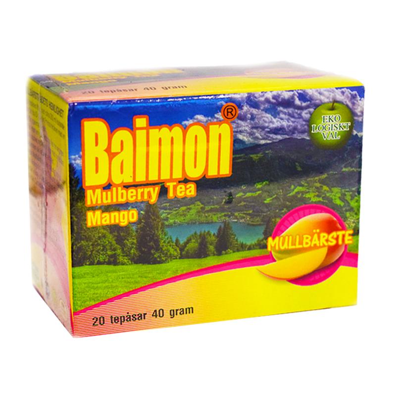 Mullbärste Mango - 90% rabatt