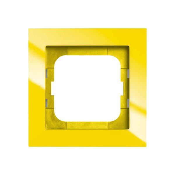 ABB Axcent Yhdistelmäkehys keltainen 1-paikkainen