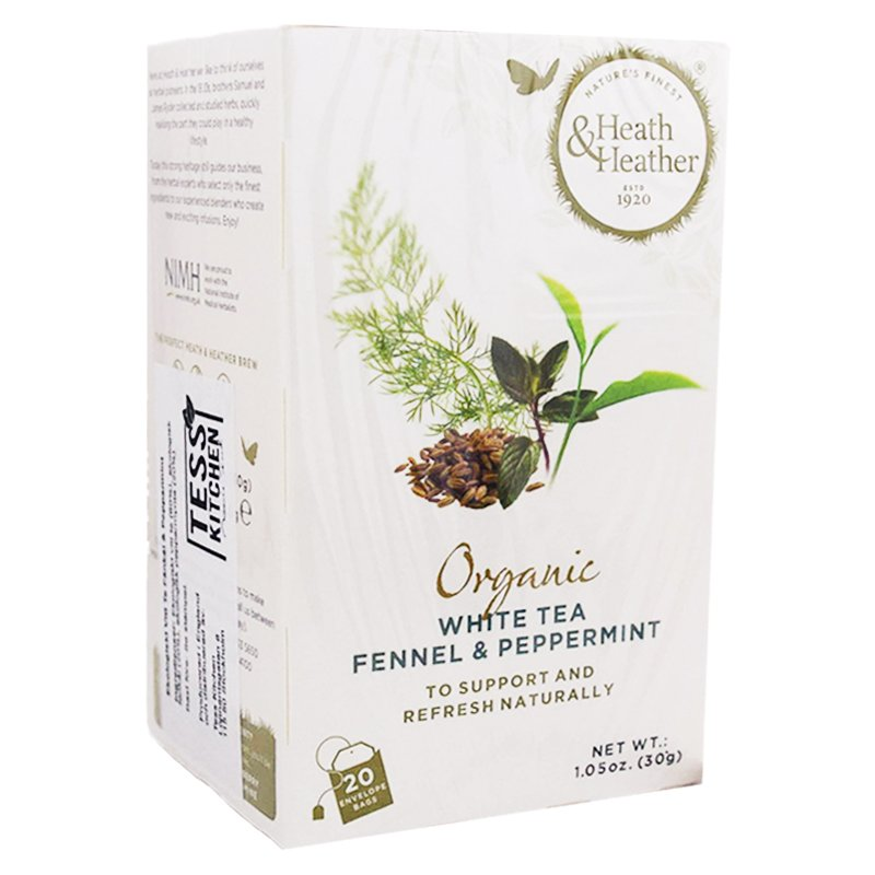 """Vitt Te """"Fennel & Peppermint"""" 20-pack - 42% rabatt"""
