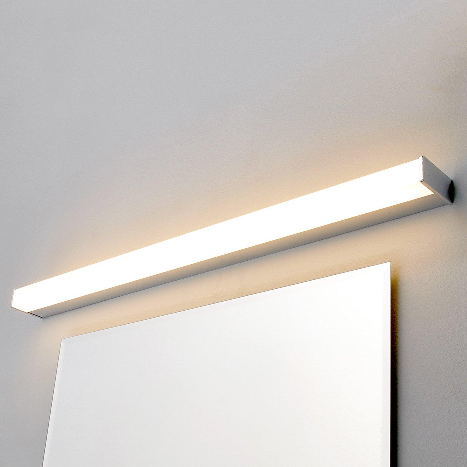 LED-bad- og speillampe Philippa kantet 88 cm