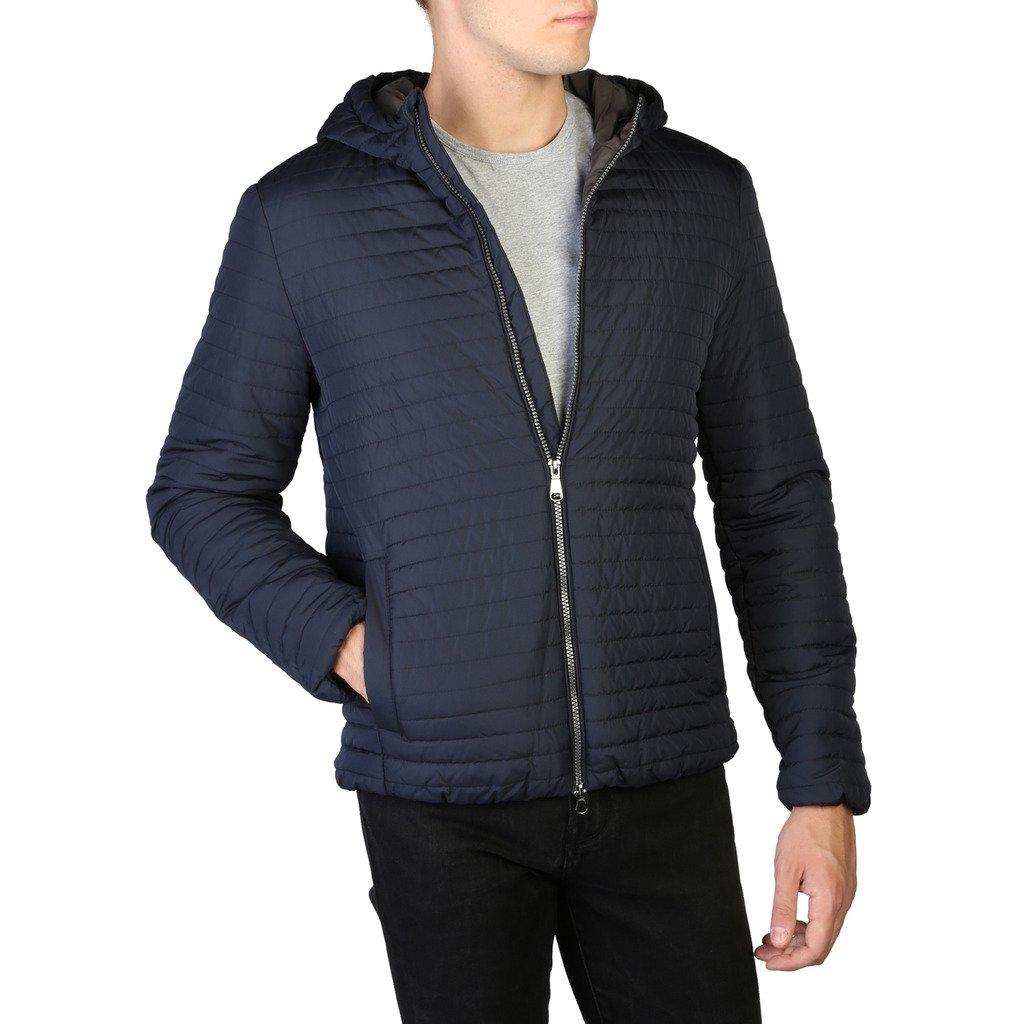 Geox Men's Jacket Blue M9421FT2578 - blue 46