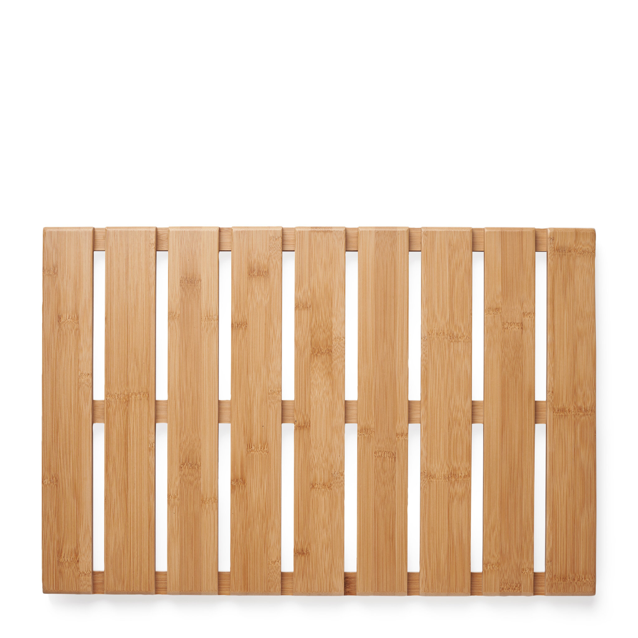 Badrumsplatta/matta i bambu