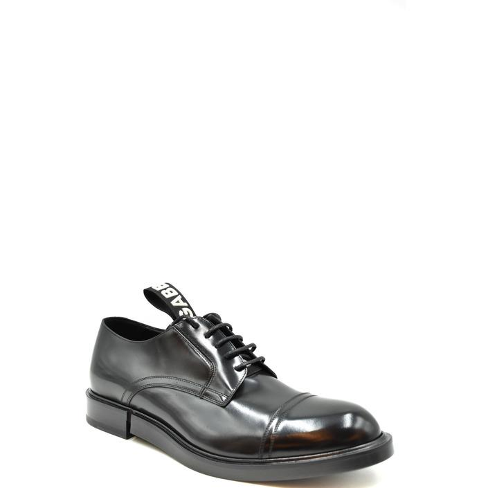 Dolce & Gabbana Men's Lace up Shoe Black 179087 - black 40