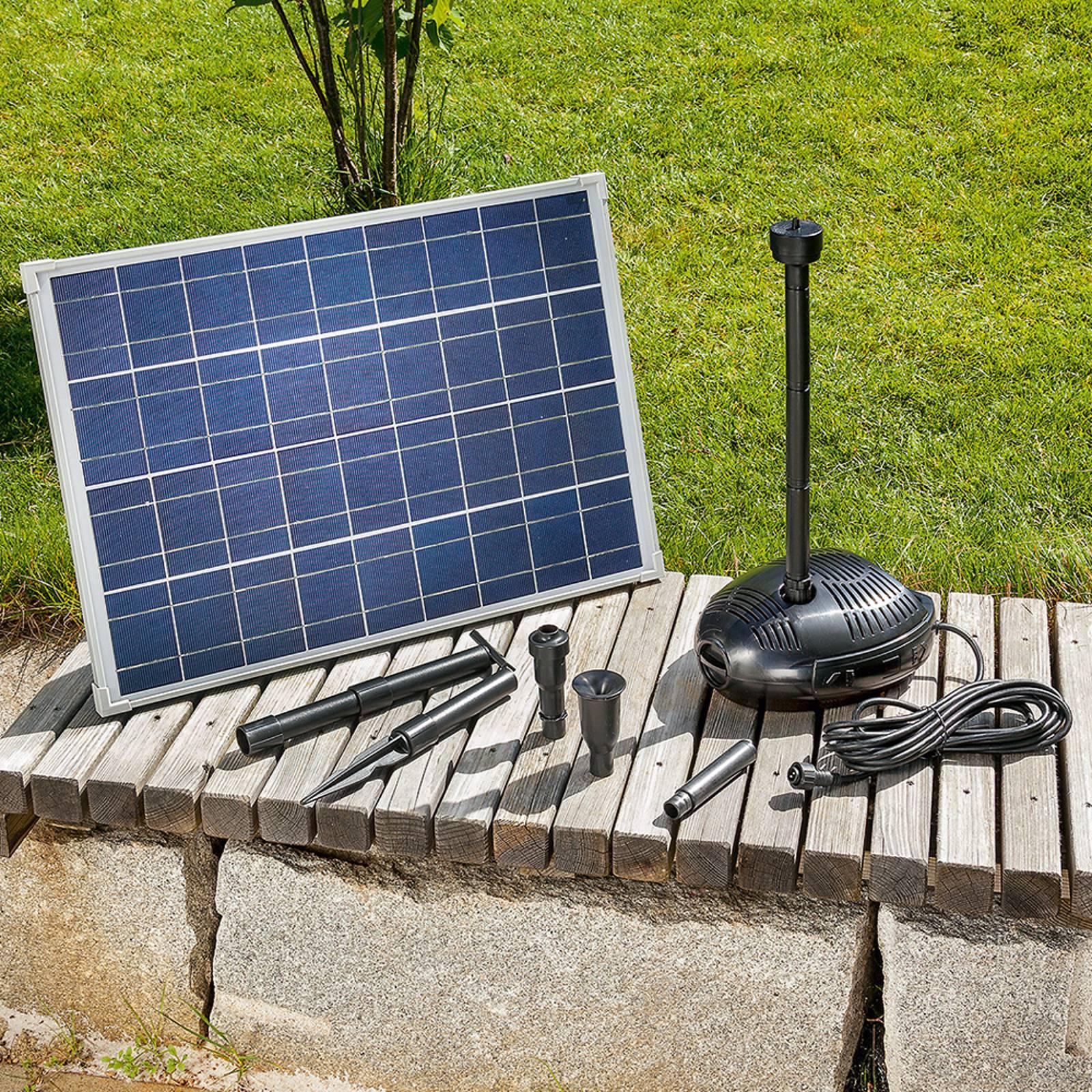 Aurinkokäyttöinen pumppujärjestelmä Genova