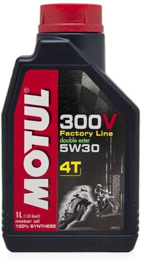 Moottoriöljy MOTUL 300V 4T FL 5W30 1L