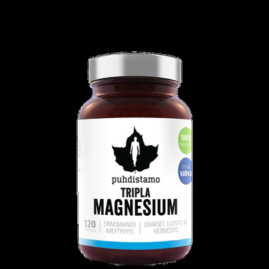 Triple Magnesium, 120 caps