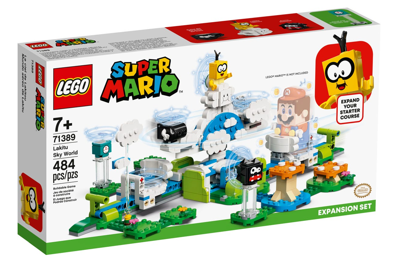 LEGO Super Mario - Lakitu cloud world expansion set (71389)