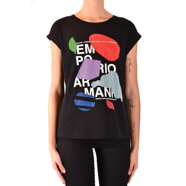 Emporio Armani Women's T-Shirt Black 184512 - black 42