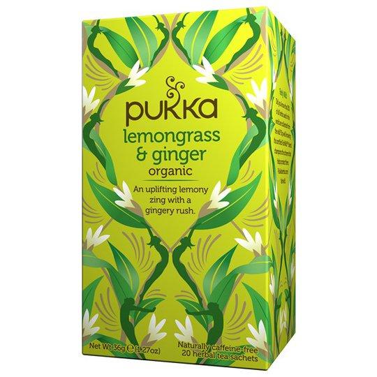 Pukka Herbs Örtte Lemongrass & Ginger, 20 påsar