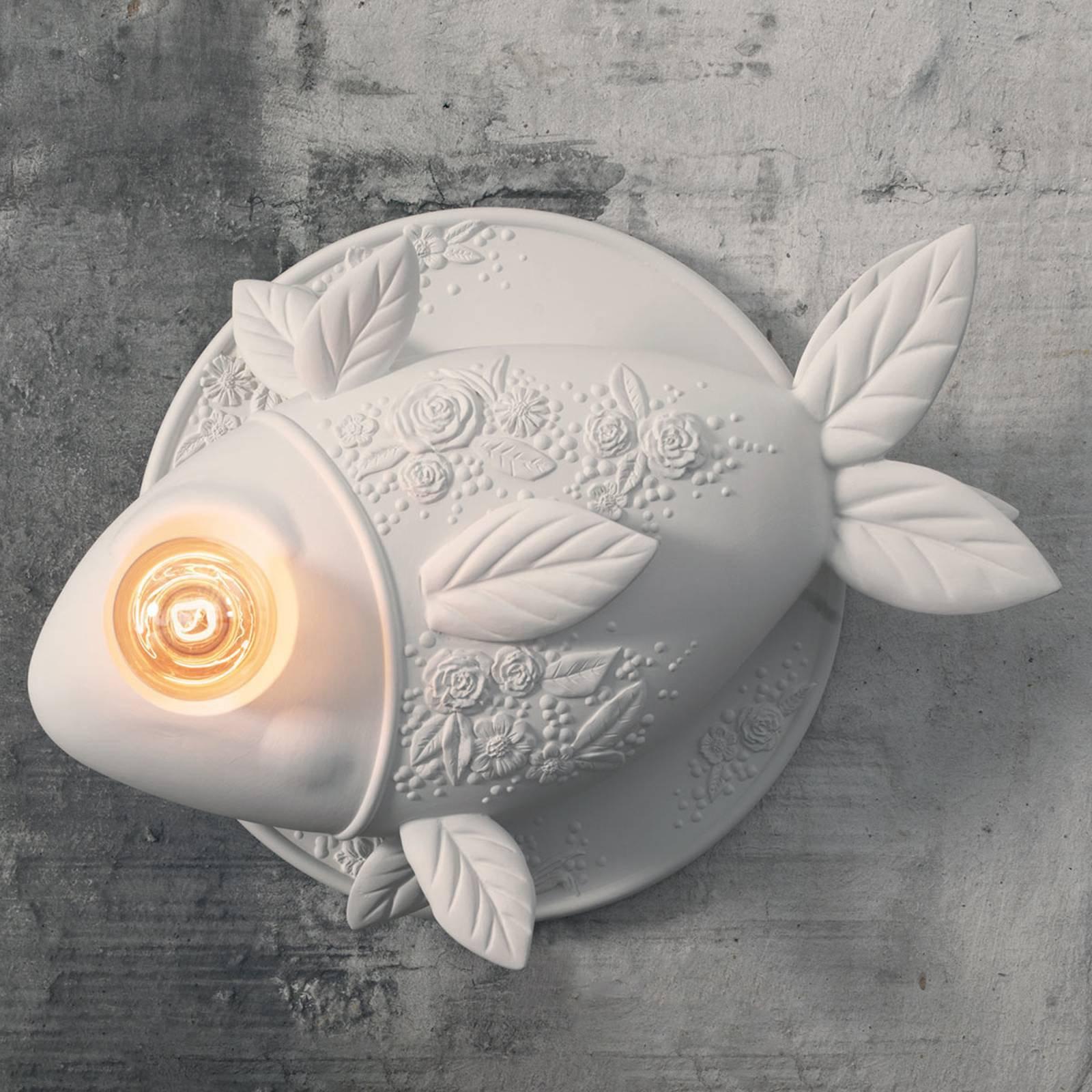 Karman Aprile - vegglampe i fiskeform