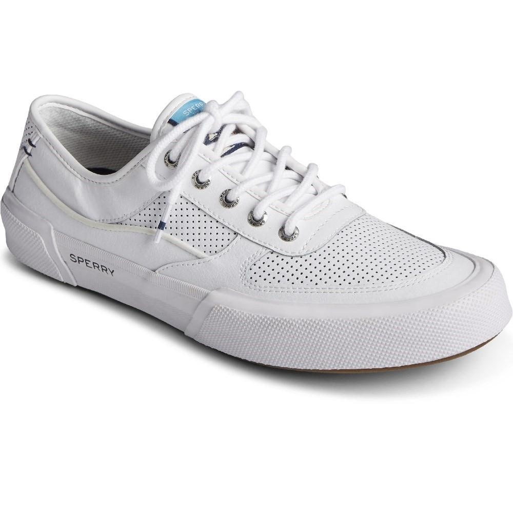 Sperry Men's Soletide Lace Trainer Various Colours 32931 - White 11