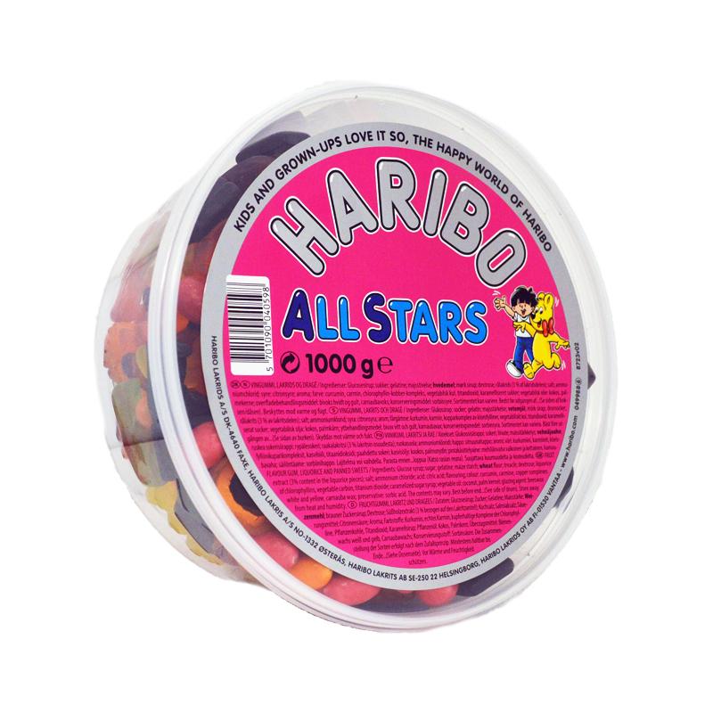 """Godisblandning """"All Stars"""" - 42% rabatt"""