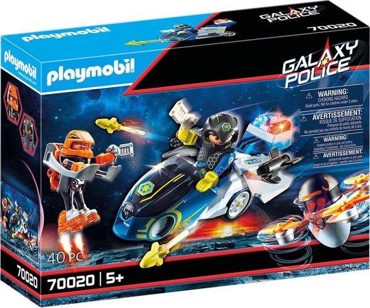 Playmobil 70020 Galaxy Police Bike