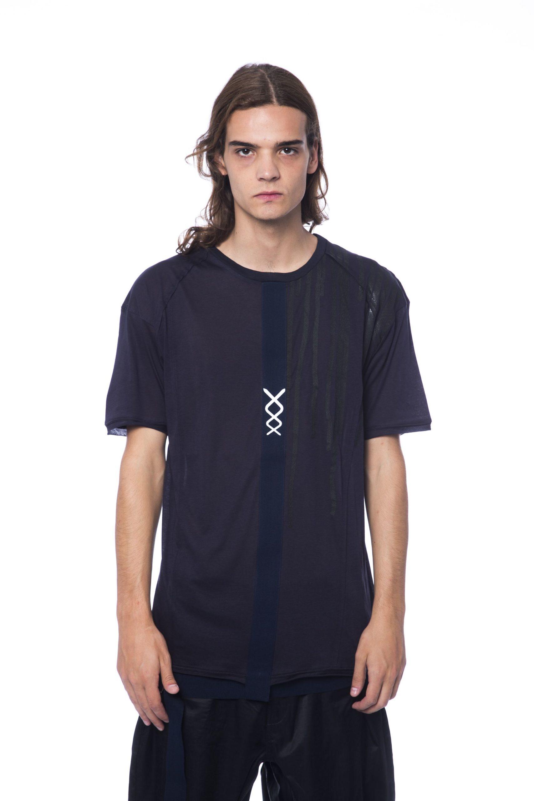 Nicolo Tonetto Men's T-Shirt Blue NI687147 - XS