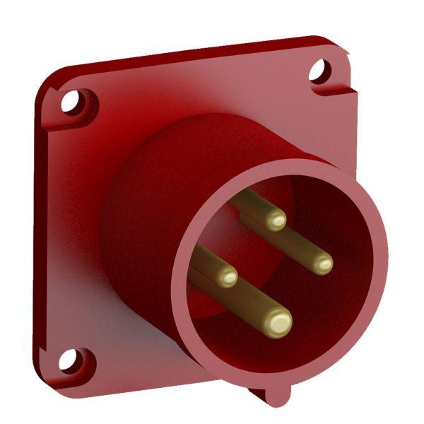 ABB 2CMA102311R1000 Panelinntak hurtigtilkoblet, vibrasjonsbestandig Rett, 4-polet, 16 A
