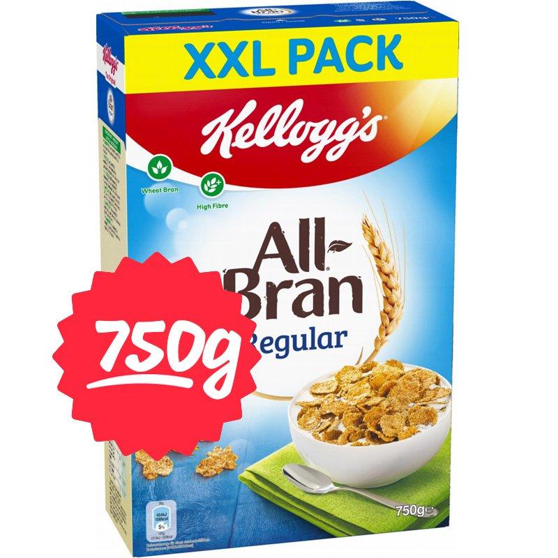 """Aamiaishiutaleet """"All Bran XXL"""" 750g - 41% alennus"""