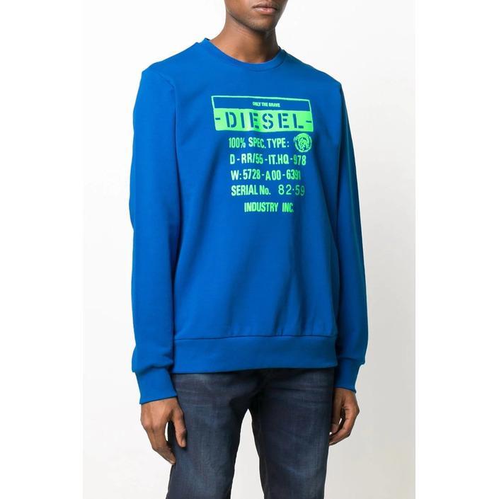 Diesel Men's Sweatshirt Blue 293906 - blue S