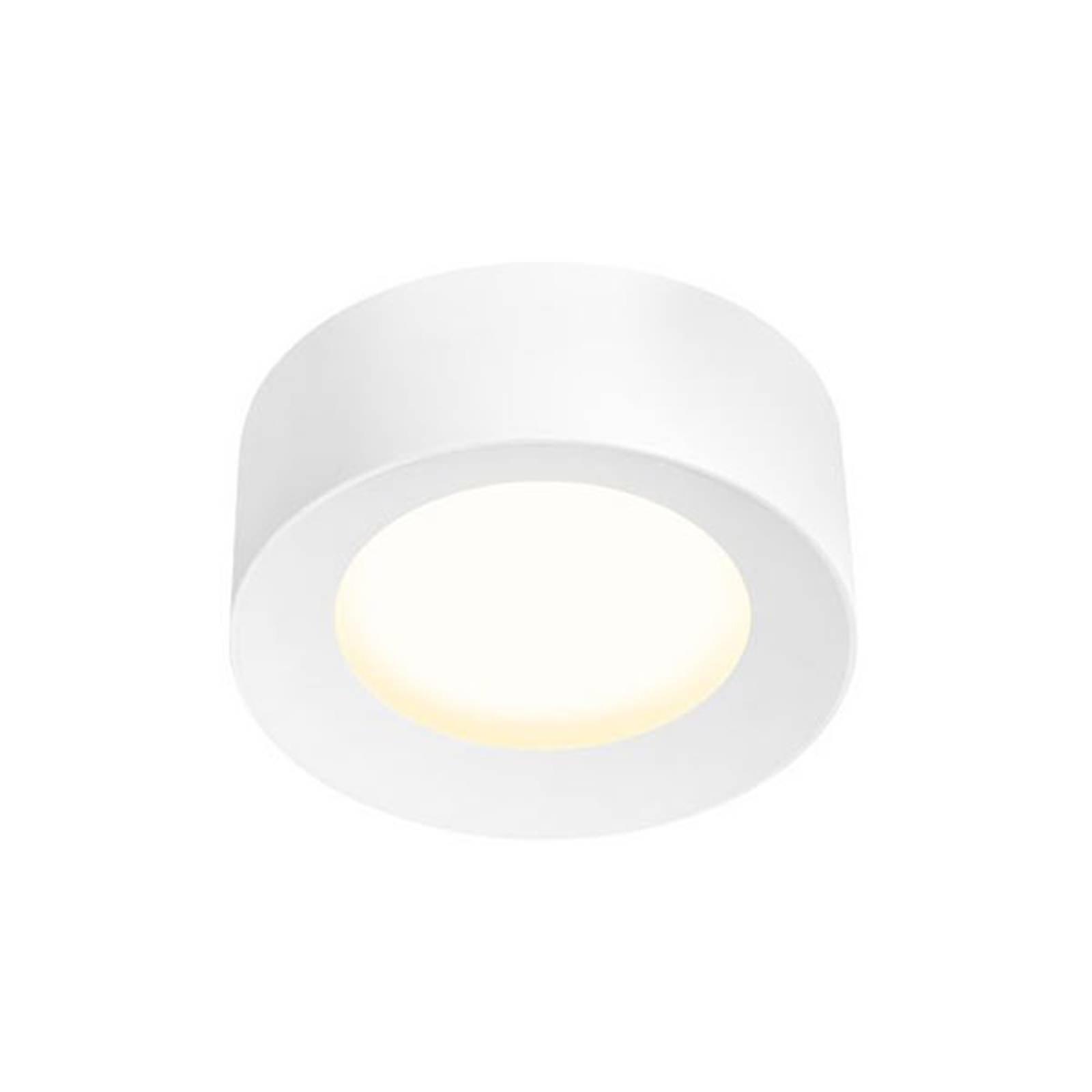 SLV Fera LED-taklampe, Ø 20 cm, matt hvit