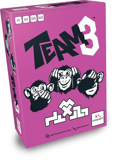 Team 3 Pink Brettspill