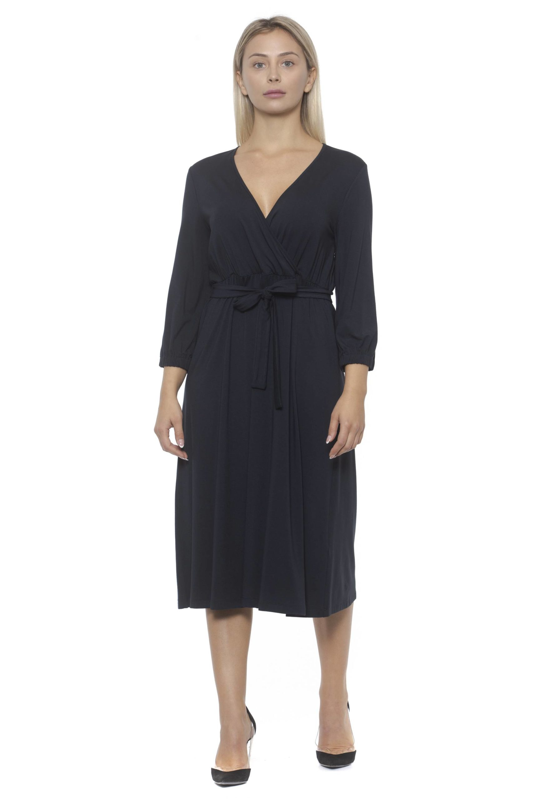 Peserico Women's Dress Blue PE1383186 - IT42   S