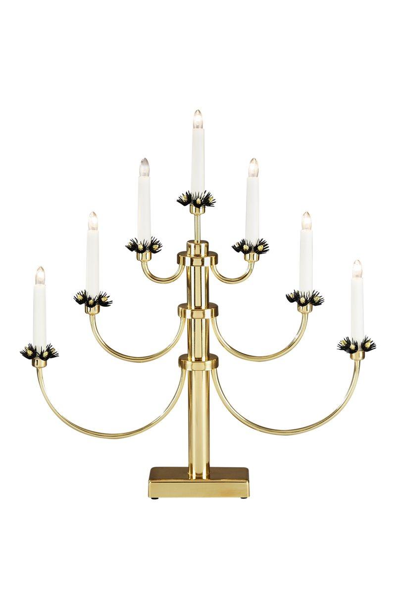 Metallinen sähkökynttelikkö, 7 lamppua