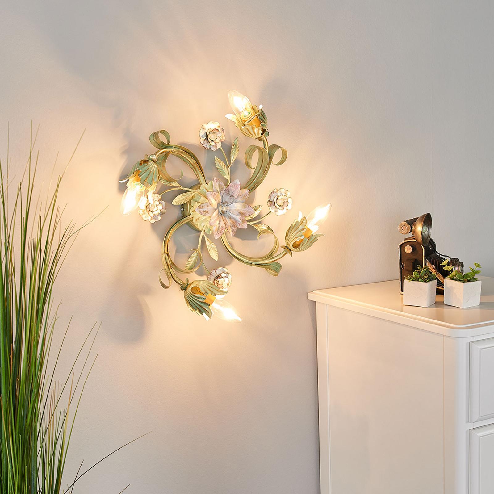 Tulipe-seinälamppu, 4-lamppuinen