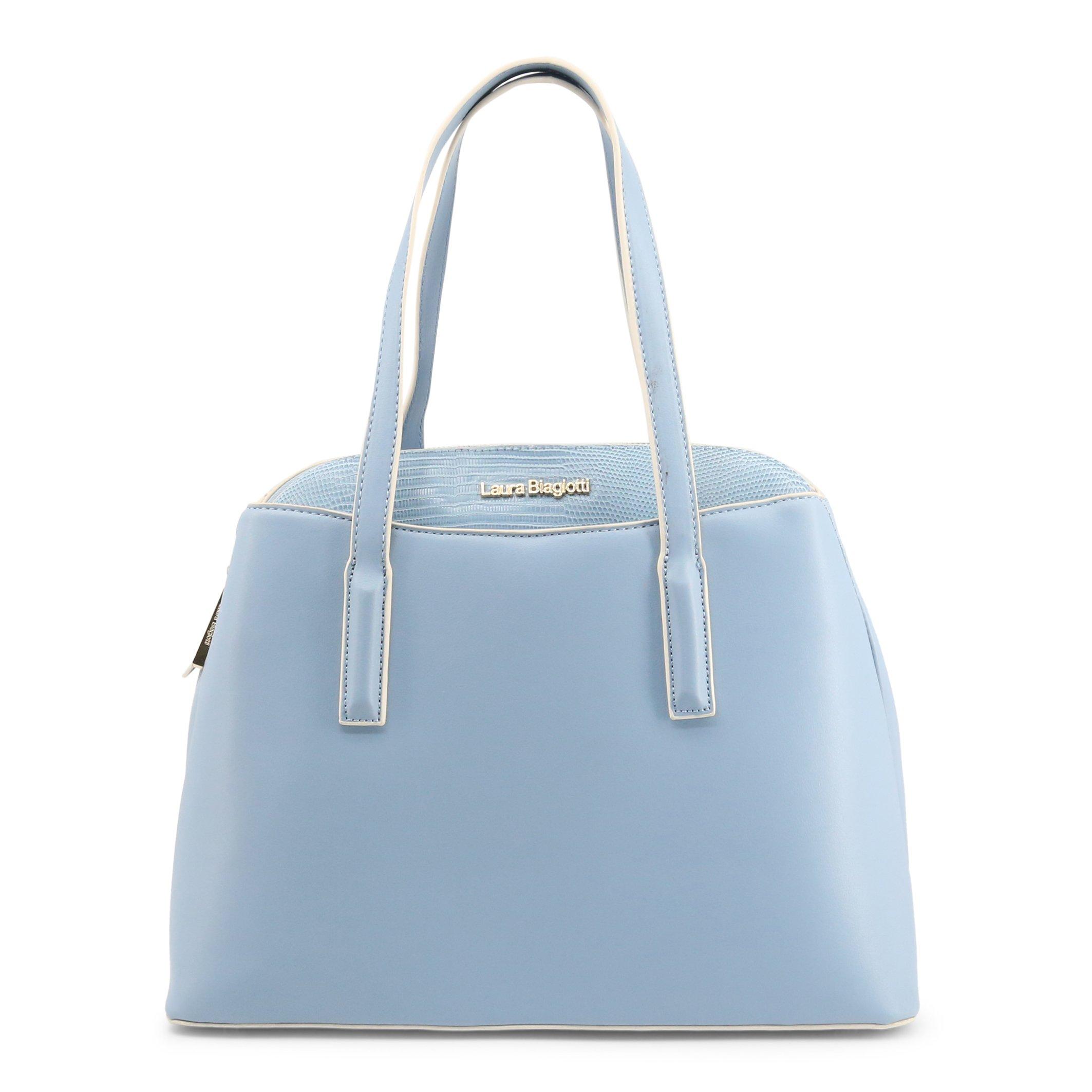 Laura Biagiotti Women's Shoulder Bag Various Colours Iza_112-1 - blue NOSIZE