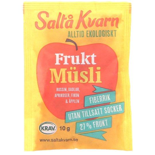 Fruktmüsli portionsförpackning - 25% rabatt