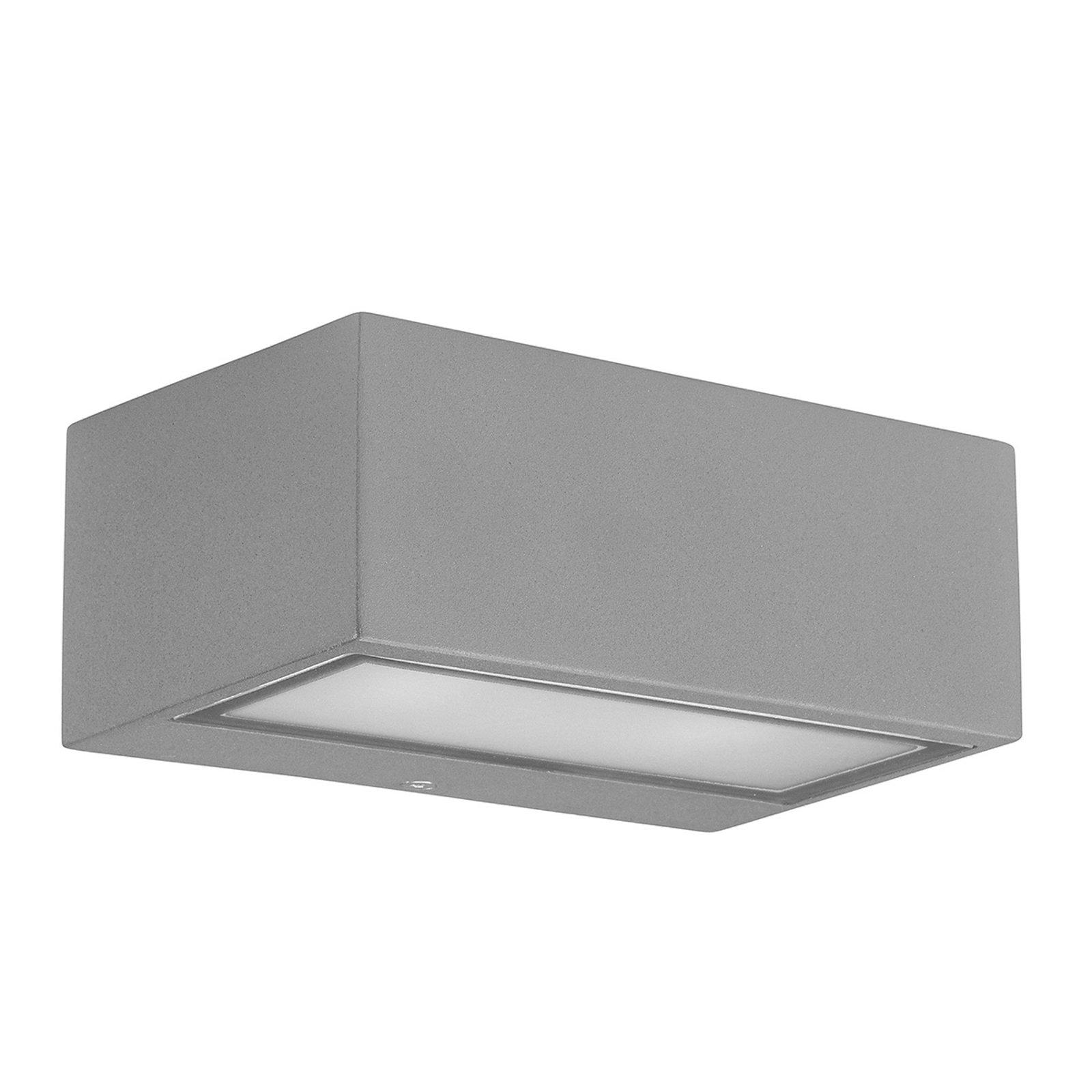 NEMESIS - justerbar utendørs vegglampe, grå
