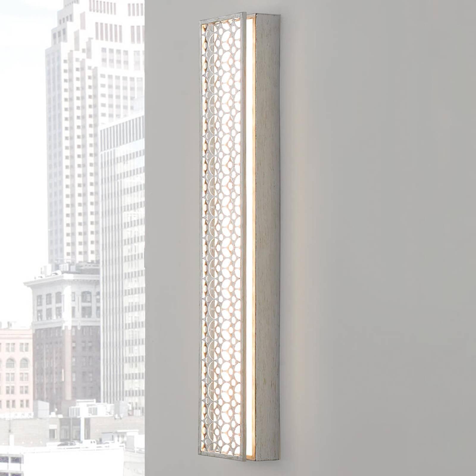 Avlang LED-vegglampe Kenney