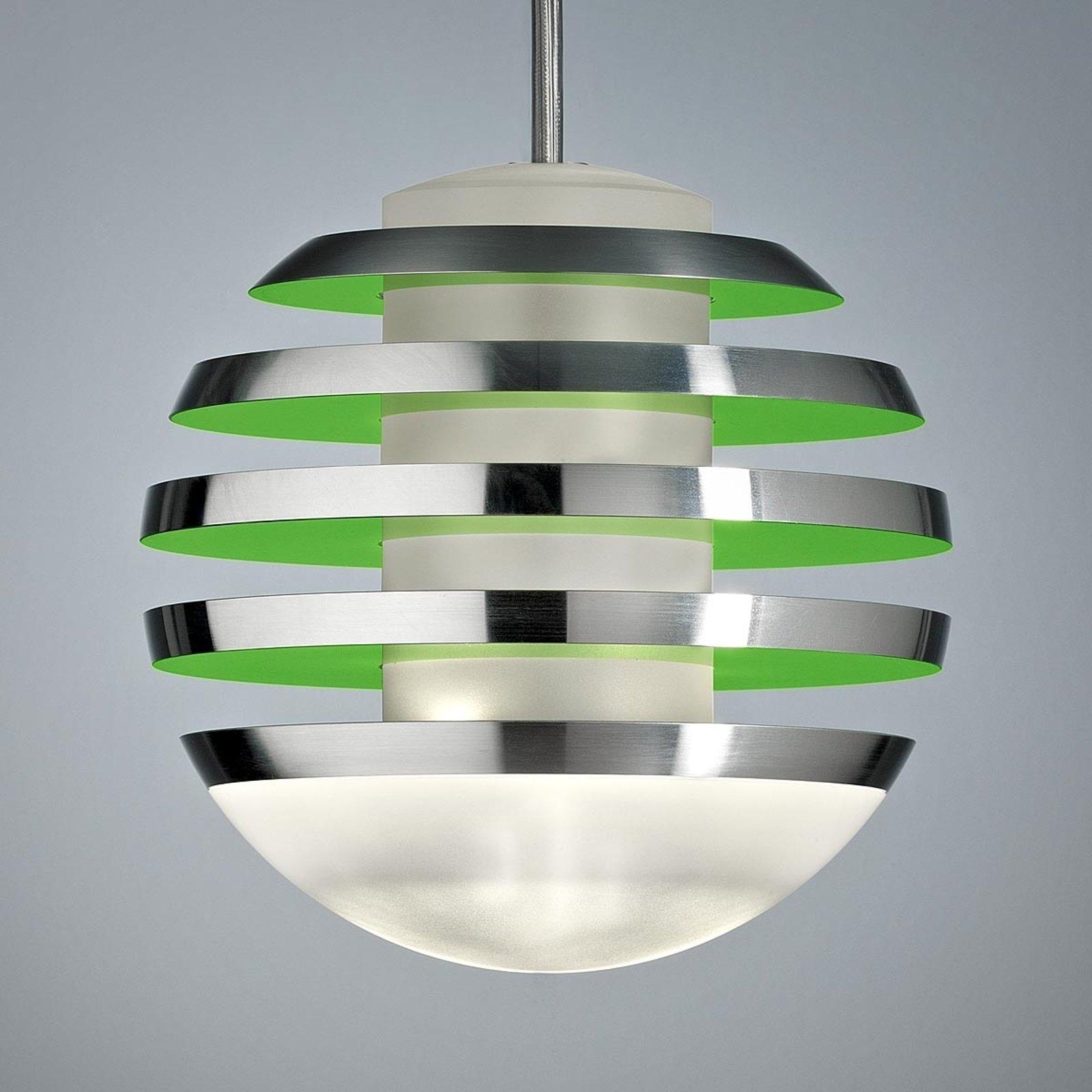 LED-hengelampe BULO grønn