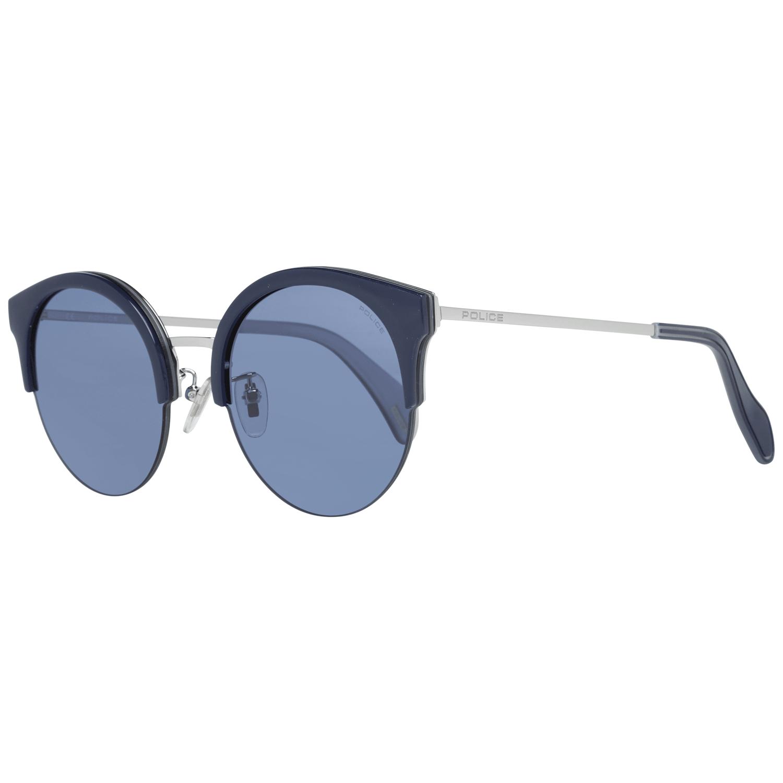 Police Women's Sunglasses Silver SPL615 610579