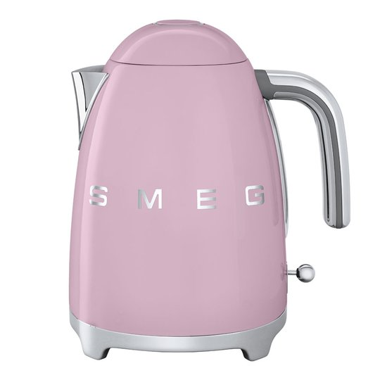 Smeg - 50's Style Vattenkokare 1,7 L Rosa