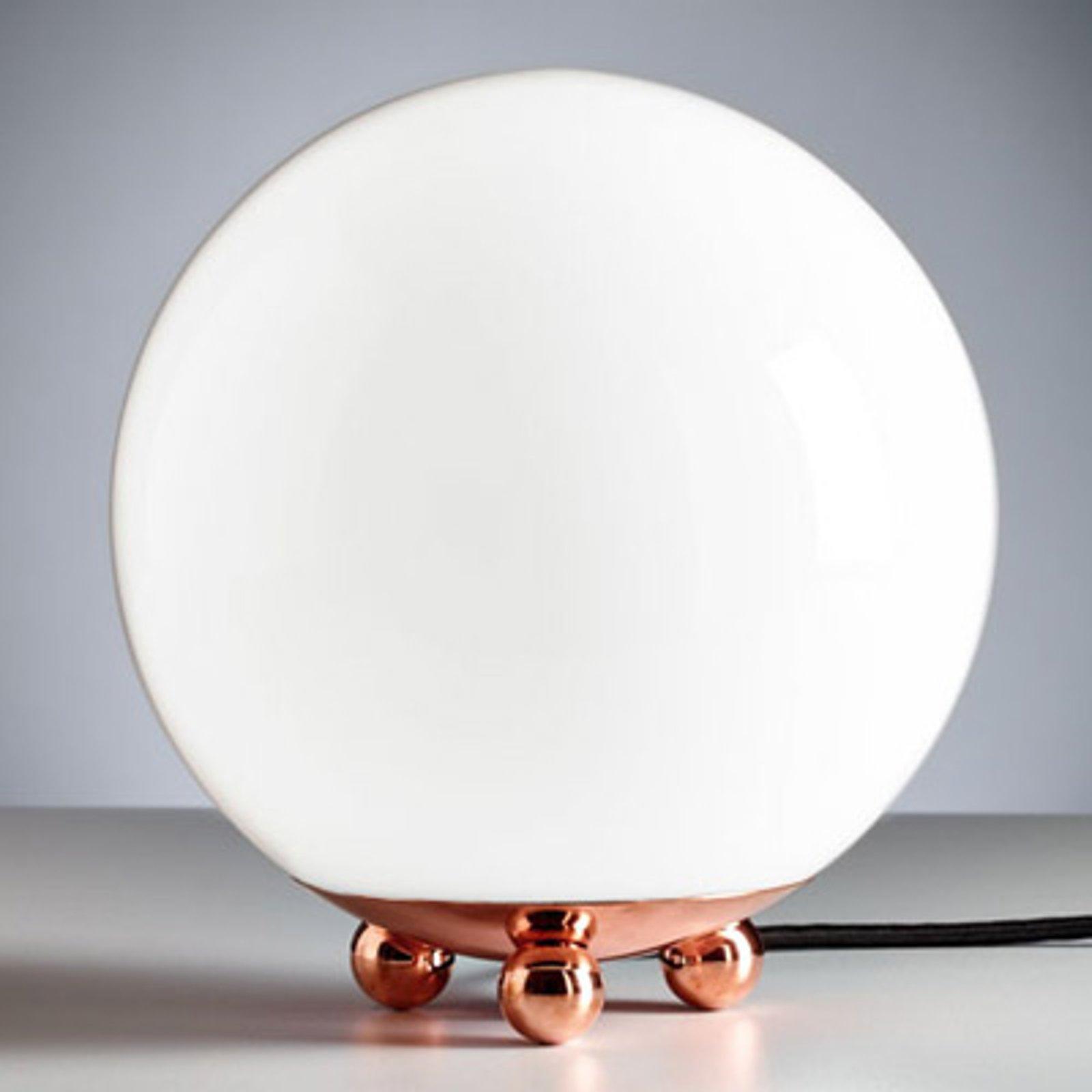 Bordlampe i Art Décostil fra Frankrike kobber