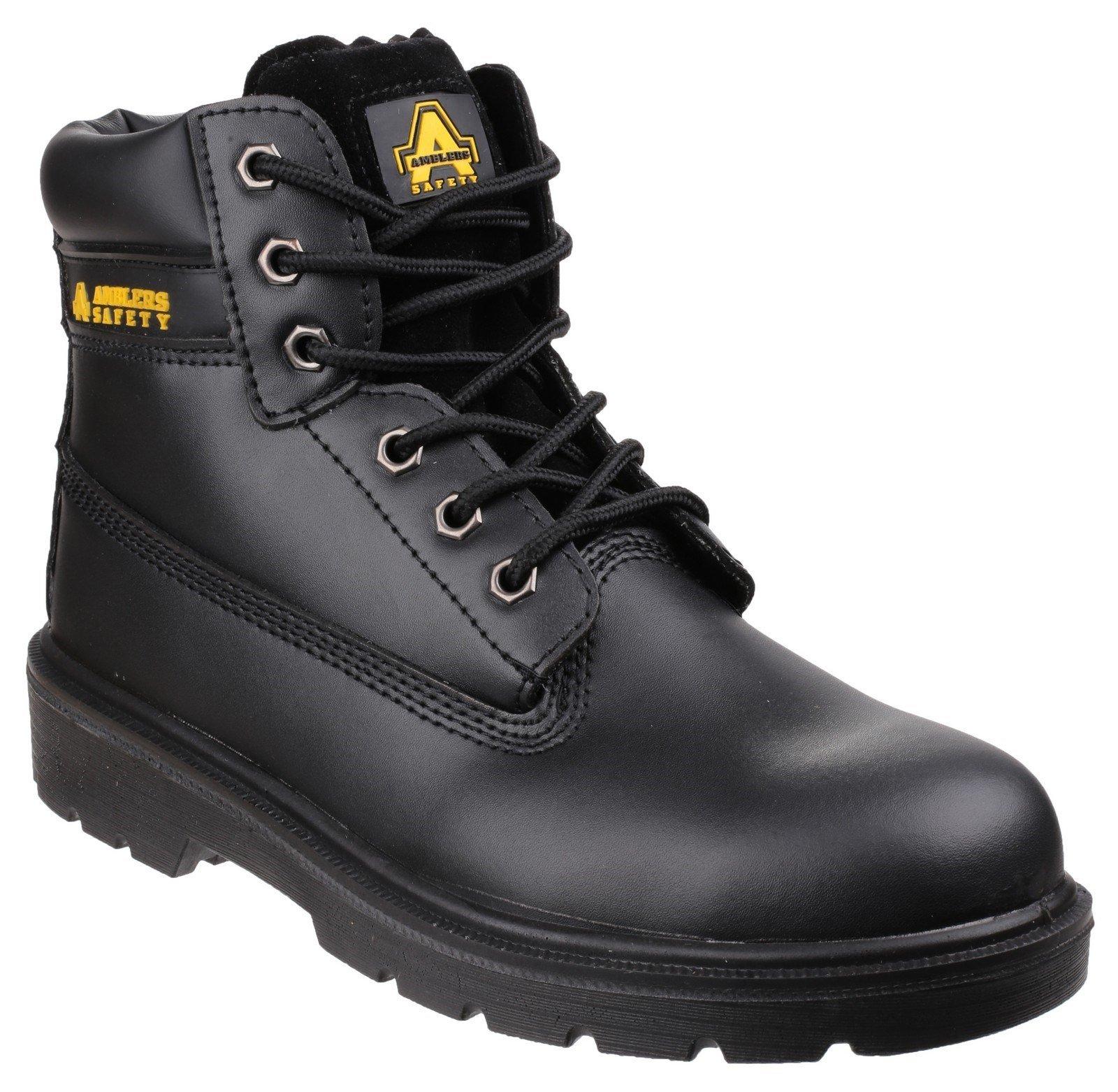 Amblers Unisex Safety Boot Black 24867 - Black 3