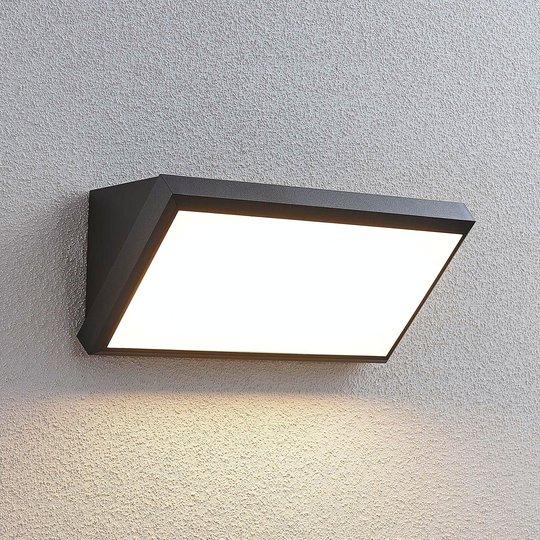 Utendørs LED-vegglampe Abby med sensor