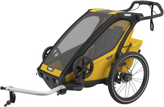 Thule Chariot Sport 1 Sykkelvogn, Yellow
