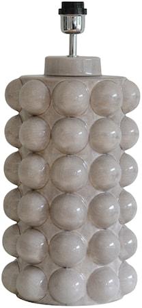 Bubbels Lampfot Brooken Grey 49 cm
