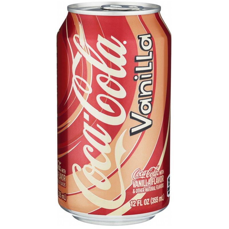"""Läsk """"Coca Cola Vanilla"""" 355ml - 22% rabatt"""