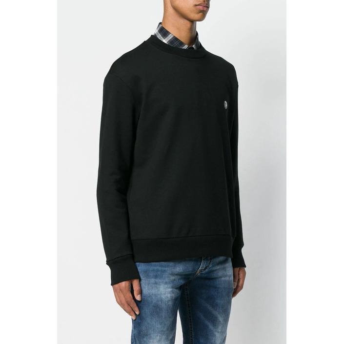 Diesel Men's Sweatshirt Black 294085 - black L