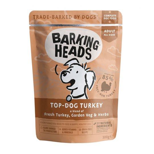 Barking Heads Top Dog Turkey 300 g