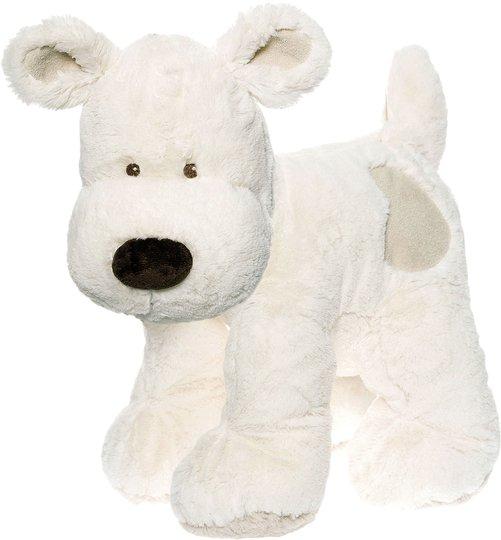 Teddykompaniet Cream Hund XL, Hvit
