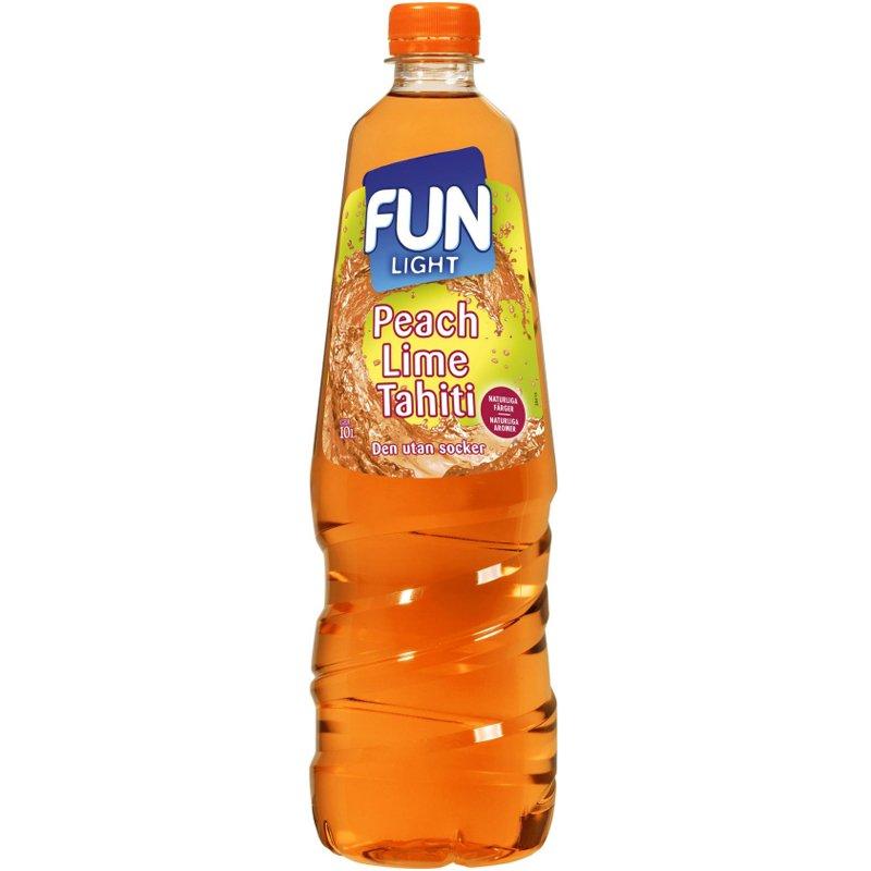 "Saft ""Peach & Lime"" 1l - 27% rabatt"