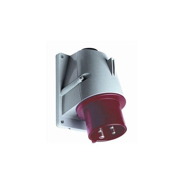 ABB 2CMA193298R1000 Kojevastake IP44, 4-napainen, 16 A Punainen